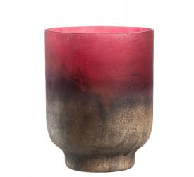 Lampion Patina 19cm czerwony