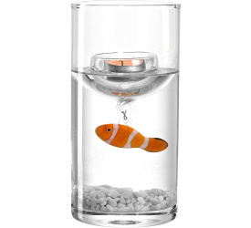 Świecznik z rybką 20,5cm
