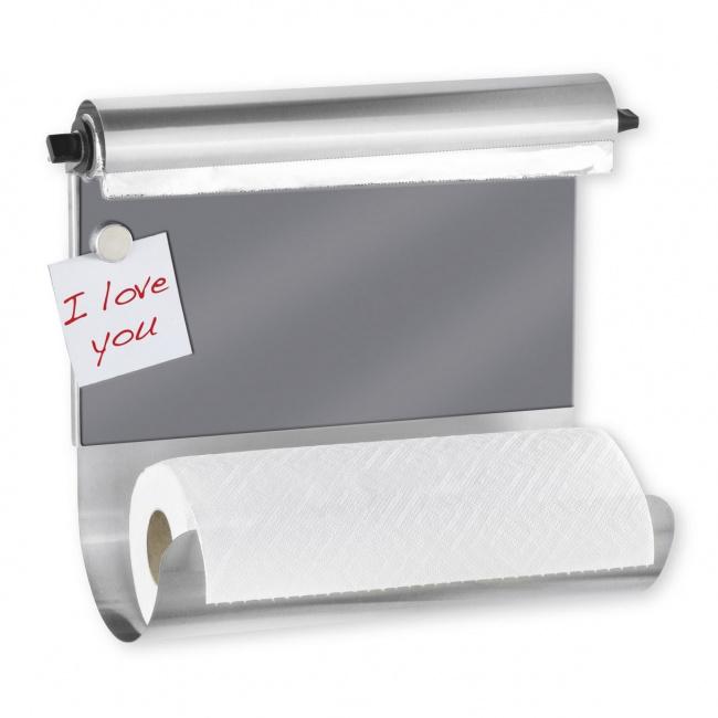 Uchwyt na ręcznik papierowy z dyspenserem na folię 35x29x14,5cm