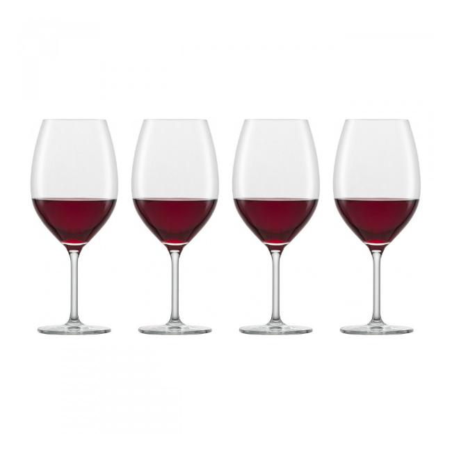 Komplet 4 kieliszków For You 600ml do wina czerwonego