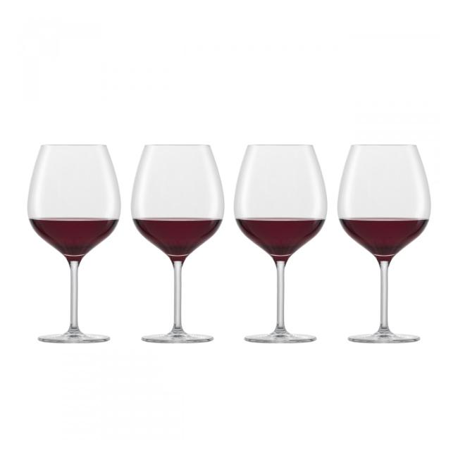 Komplet 4 kieliszków For You 630ml do wina czerwonego