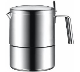 Kawiarka ciśnieniowa stalowa Kult 6-filiż.