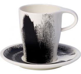 Filiżanka ze spodkiem Coffee Passion Awake 380ml do kawy