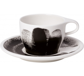 Filiżanka ze spodkiem Coffee Passion Awake 260ml do cappuccino
