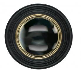 Lustro 31cm czarne