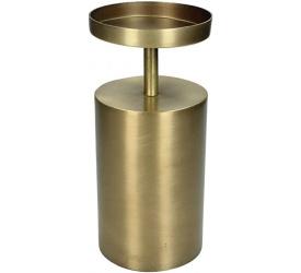Świecznik 22,5cm złoty