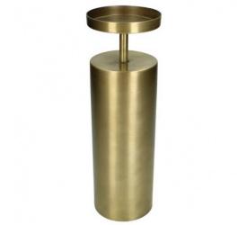 Świecznik 33cm złoty