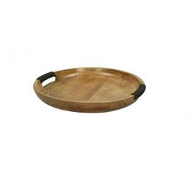 Taca 35cm drewniania