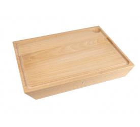 Deska do krojenia 39,5cm z drewna bukowego