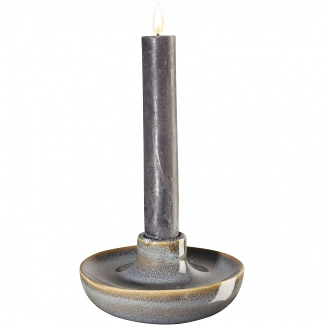 Świecznik Saisons Denim 11x5.5cm