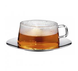 Filiżanka ze spodkiem TeaTime 200ml do herbaty