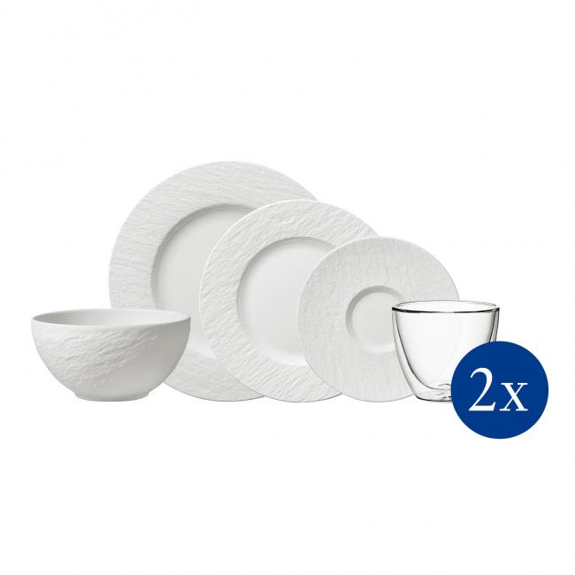 Zestaw Manufacture Rock Blanc 10 elementów