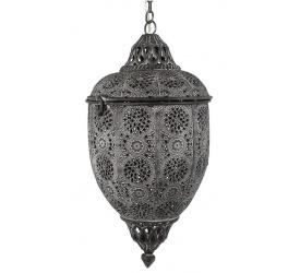 Lampa / lampion wiszący 41,5cm szary