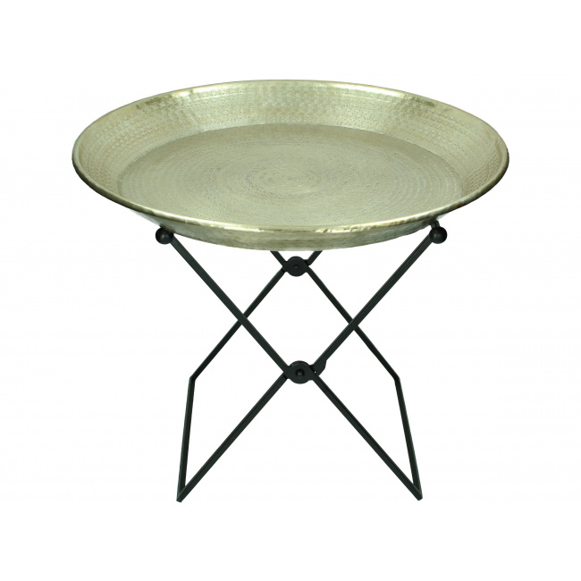 Taca srebna na stojaku 55x45cm