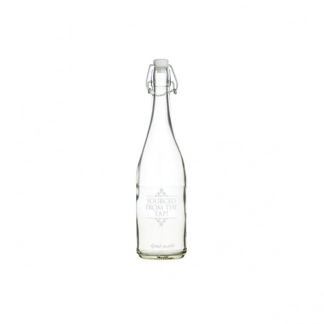 Butelka 1l 32cm szklana