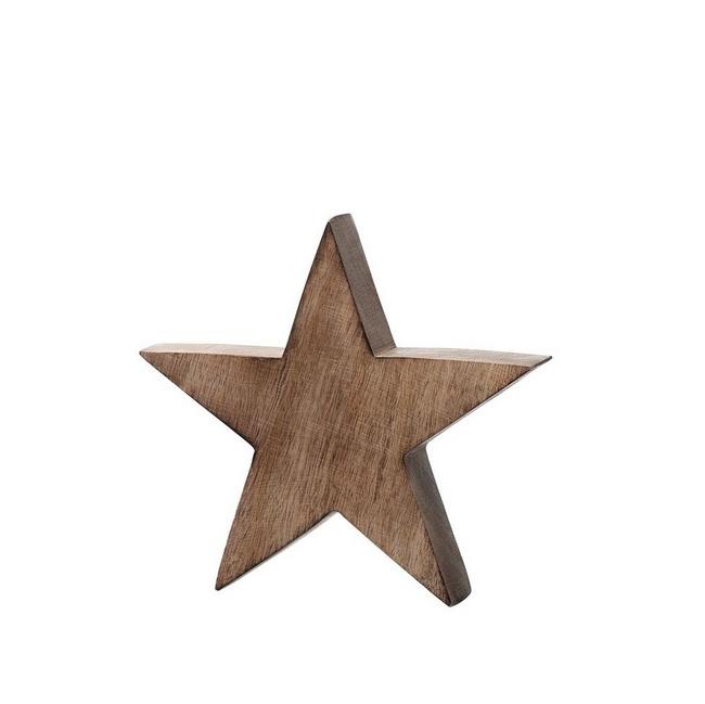 Gwiazda Vivo 20cm drewniana