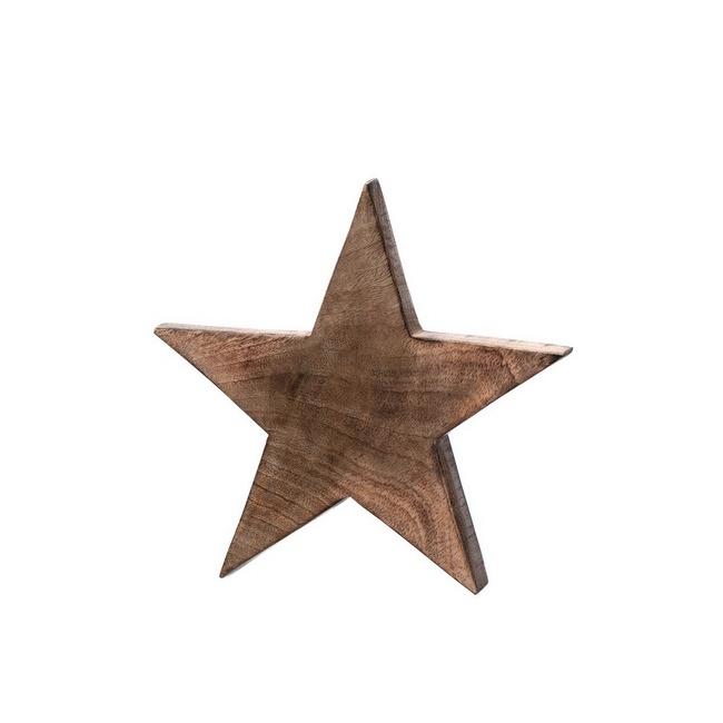 Gwiazda Vivo 24cm drewniana