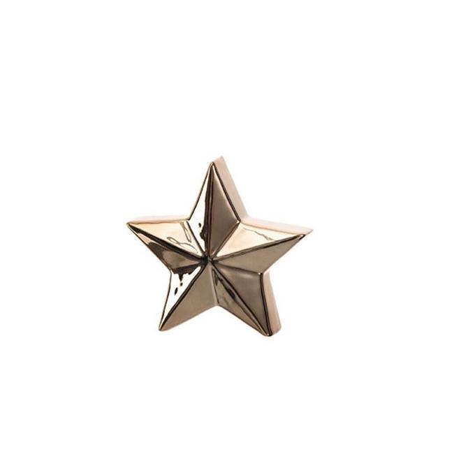 Gwiazda 12cm złota