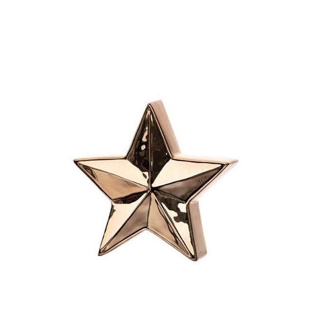 Gwiazda 15cm złota