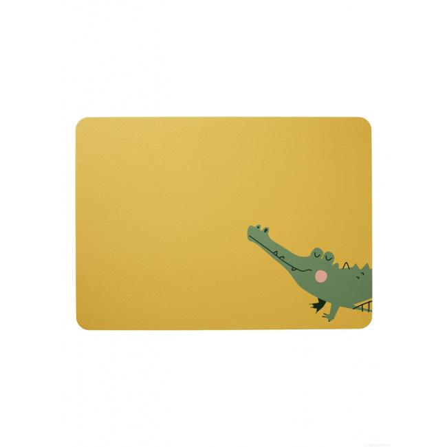 Podkładka ekoskóra 46x33cm  Krokodyl Croco