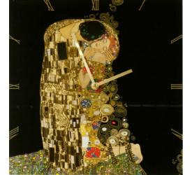 Zegar ścienny Pocałunek 30cm