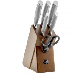 Zestaw 5 noży w bloku Tanaro