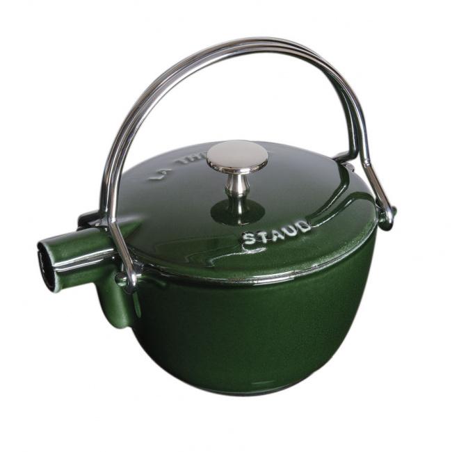 Czajnik żeliwny 1,15l basil-green