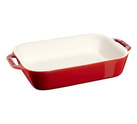 Półmisek ceramiczny 2,4l czerwony