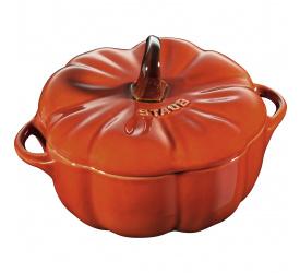 Garnek mini cocotte 700 ml dynia, pomarańczowy