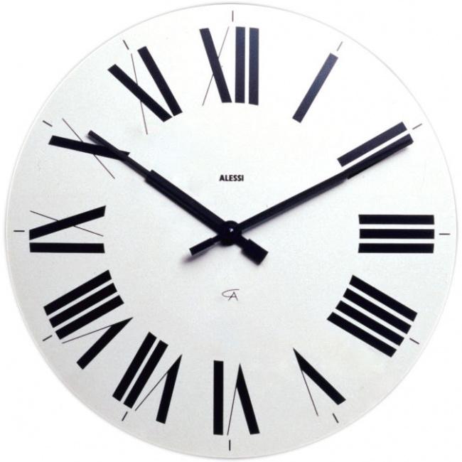 Zegar ścienny Firenze biały