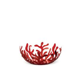 Kosz Mediterraneo 25cm na owoce czerwony