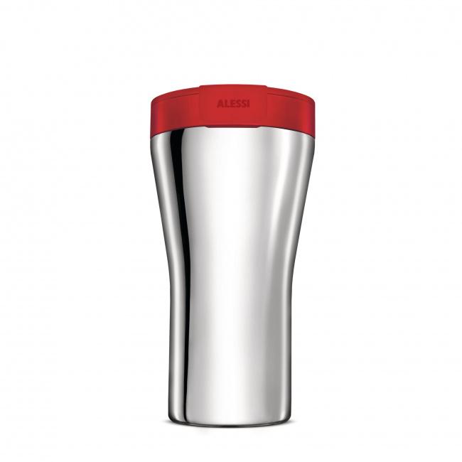 Kubek termiczny Caffa 400ml czerwony