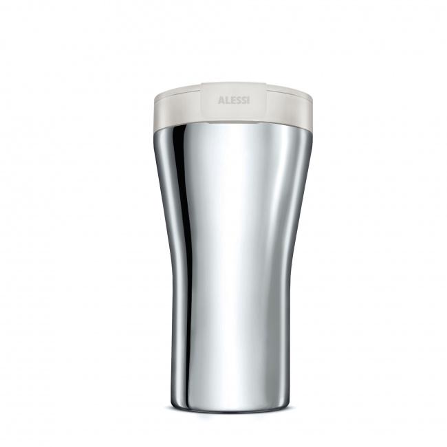 Kubek termiczny Caffa 400ml biały