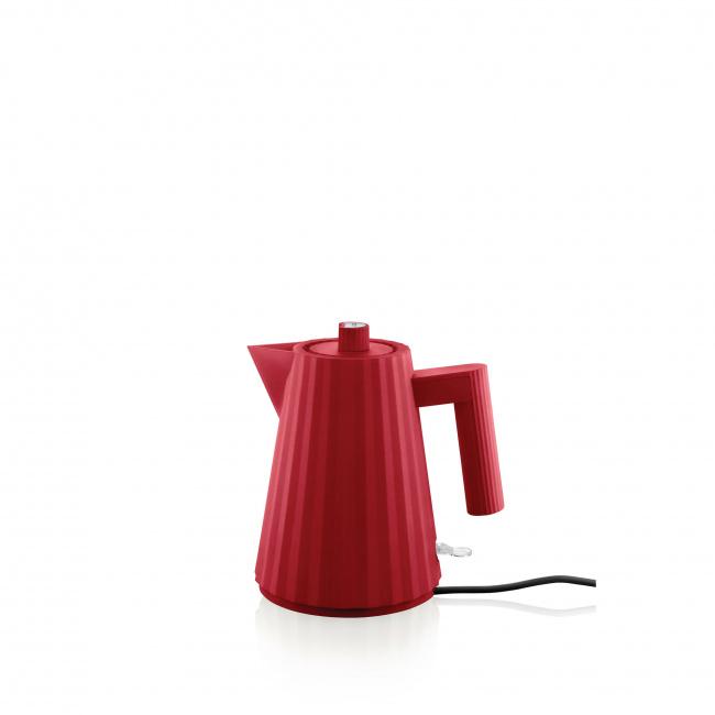 Czajnik elektryczny Plissé 1l czerwony