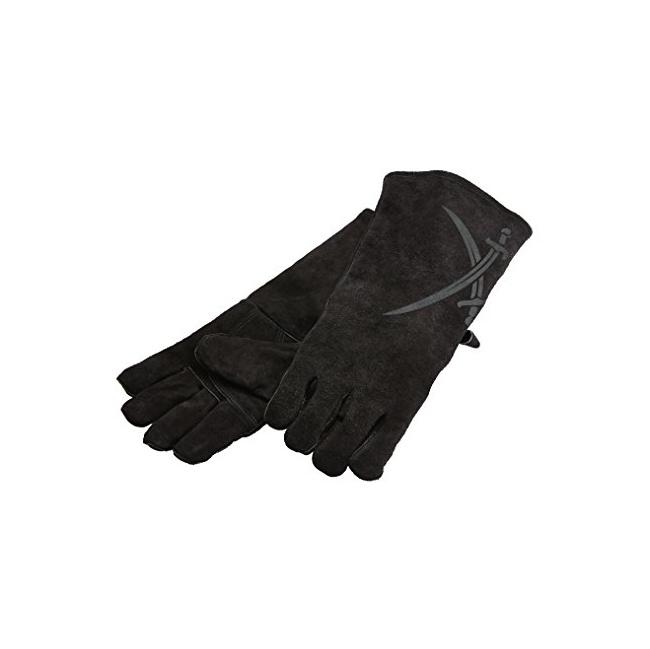 Komplet rękawic grillowych czarne