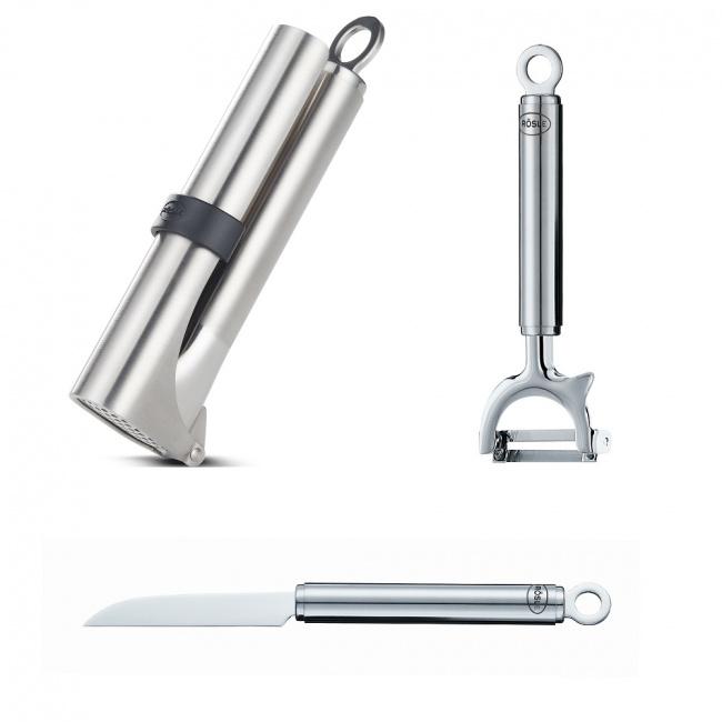 Komplet 3 narzędzi do warzyw