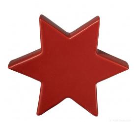 Gwiazda czerwona 18x16x5.5cm