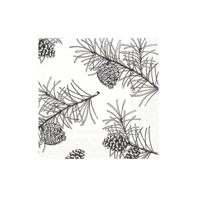 Serwetki 33x33cm Pine Branches 20szt.