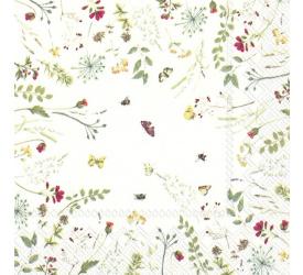 Serwetki 33x33cm Light Flowers 20szt.