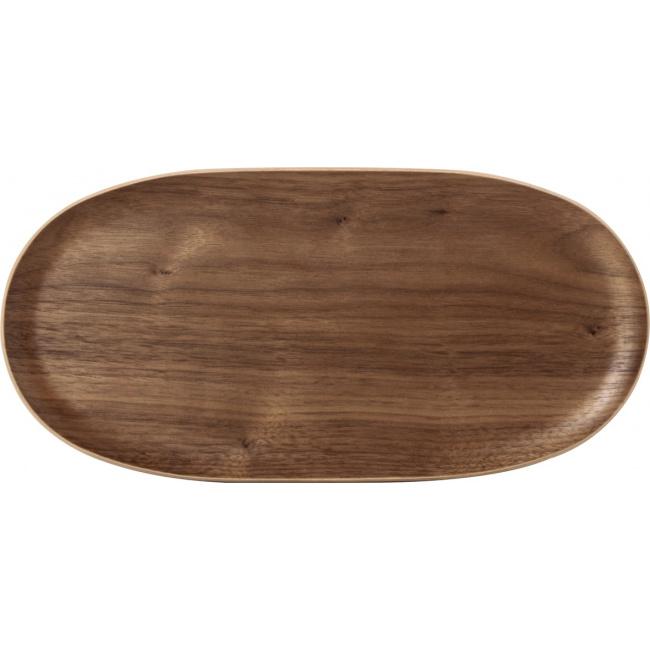Talerz 31x25cm drewniany
