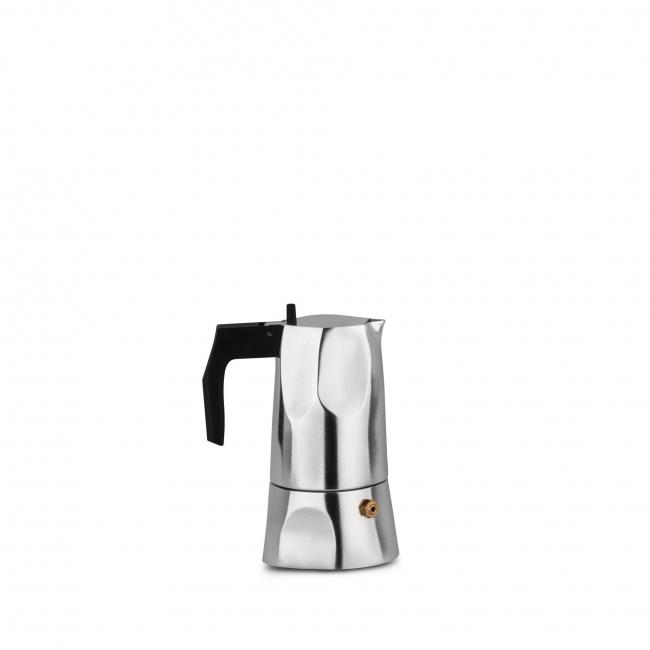 Kawiarka ciśnieniowa aluminiowa Ossidiana 1-filiż. polerowana