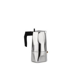 Kawiarka ciśnieniowa aluminiowa Ossidiana  3-filiż. polerowana