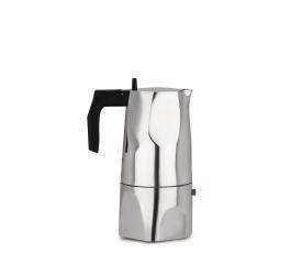 Kawiarka ciśnieniowa aluminiowa Ossidiana 6-filiż. polerowana