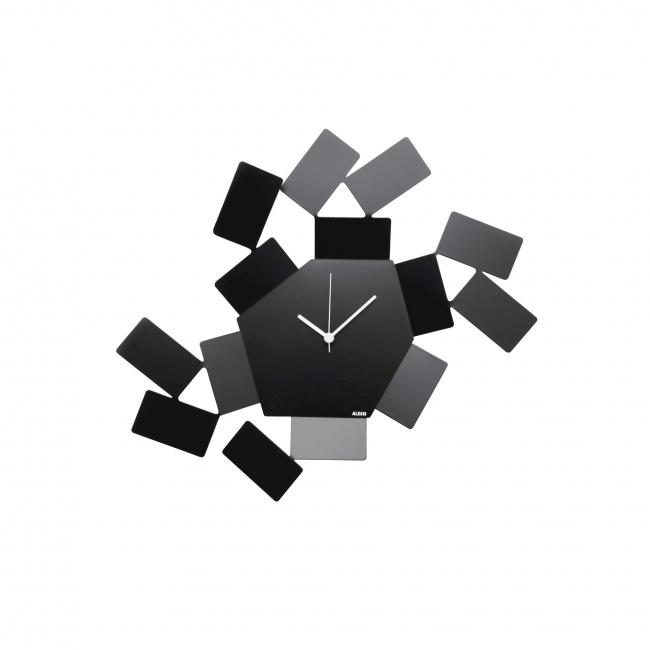 Zegar ścienny La Stanza dello Scirocco czarny