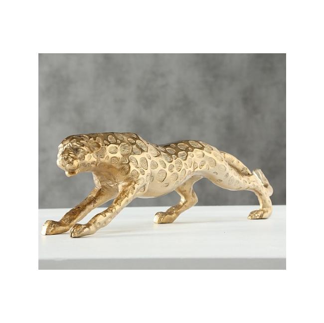 Figurka Pantera 7cm złota