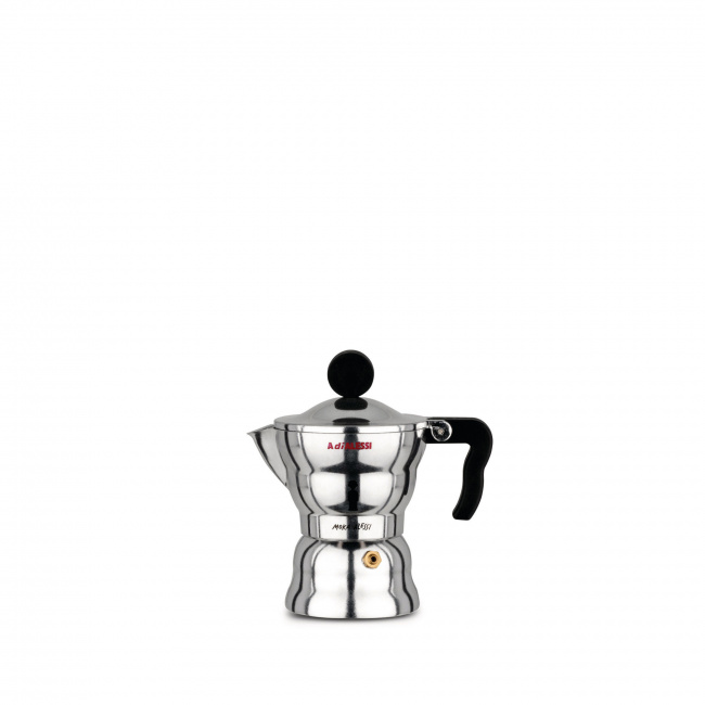 Kawiarka ciśnieniowa aluminiowa Moka 1-filiż.