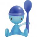 Kieliszek na jako dla dziecka Cico z łyżeczką niebieski