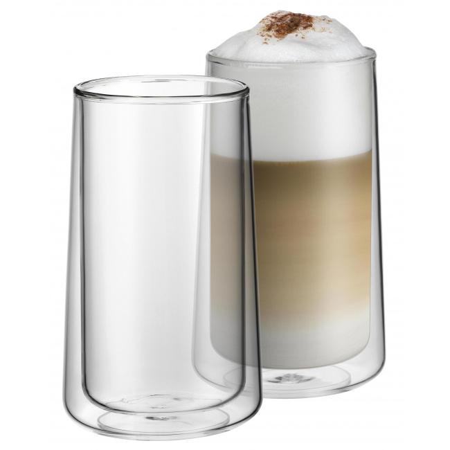 Komplet 2 szklanek 270ml podwójne ścianki