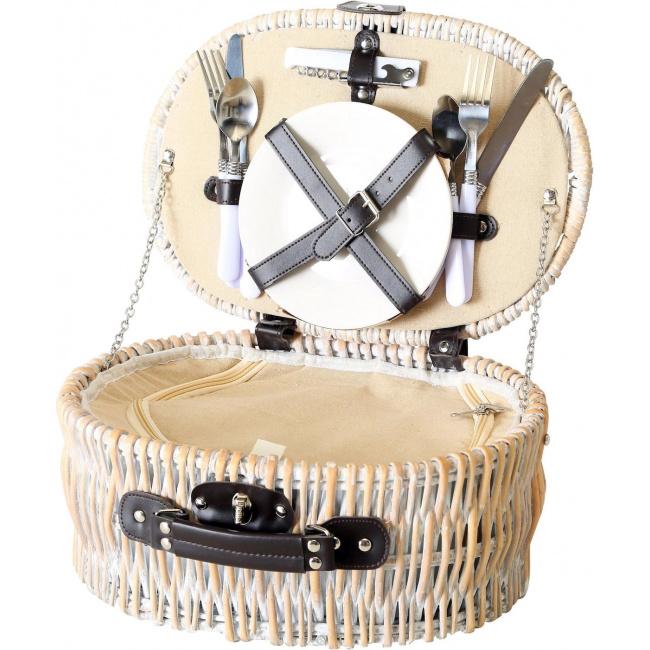 Zestaw piknikowy Ariege dla 2 osób - 12 elementów