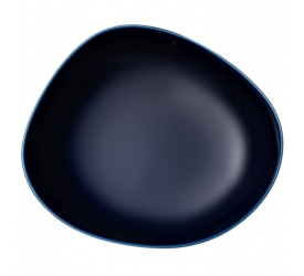 Talerz Organic Dark Blue 20cm głęboki